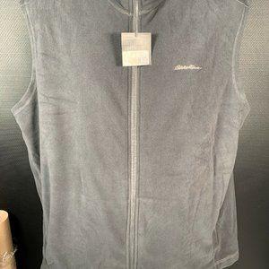 Eddie Bauer Quest Fleece Vest Men's XL New